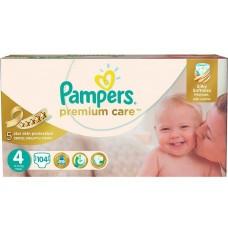 Pampers подгузники Premium Care 4 (8-14 кг) 104 шт