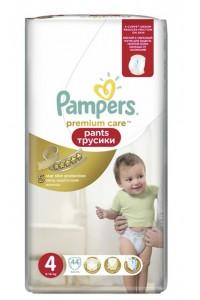 Pampers Premium Care трусики 4 (9-14 кг) 44 шт