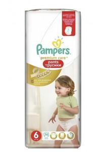 Pampers Premium Care трусики 6 (16+ кг) 36 шт
