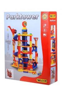Паркинг 7 уровневый с автомобилями (в коробке) Полесье Wader арт. 37848