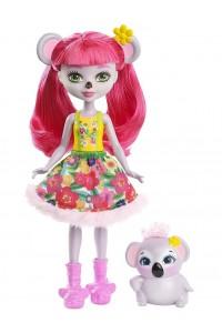 Кукла Enchantimals Карина Коала с любимой зверюшкой FCG64