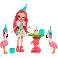 Набор с куклой Enchantimals Праздник Фламинго FCG79
