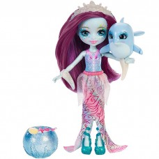 Кукла Enchantimals Морские подружки с друзьями Дольче Дельфин FKV55