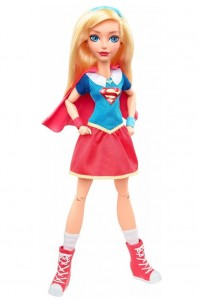Кукла Super Hero Girls Супергероини Супергерл Базовая DLT63