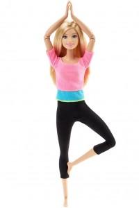Кукла Barbie Безграничные движения Барби Made To Move DHL82