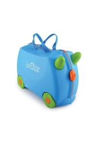 Детский чемодан Trunki на колесиках Голубой 0054