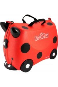 Детский чемодан Trunki на колесиках Божья коровка 0092