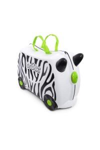 Детский чемодан Trunki на колесиках Зебра Зимба 0264