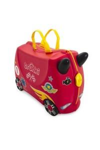 Детский чемодан Trunki на колесиках Гоночная машинка Рокко 0321