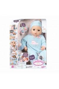 Интерактивная кукла Baby Annabell Беби Аннабель Мальчик Zapf Creation 43 см 794654