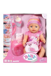 Интерактивная кукла Baby Born Малышка Zapf Creation 43 см 822005