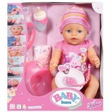 Интерактивная кукла Baby Born Малышка Zapf Creation Беби Борн 43 см