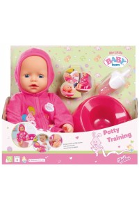 Кукла Baby Born Zapf Creation Беби Борн Учимся ходить на горшок 32 см 823460